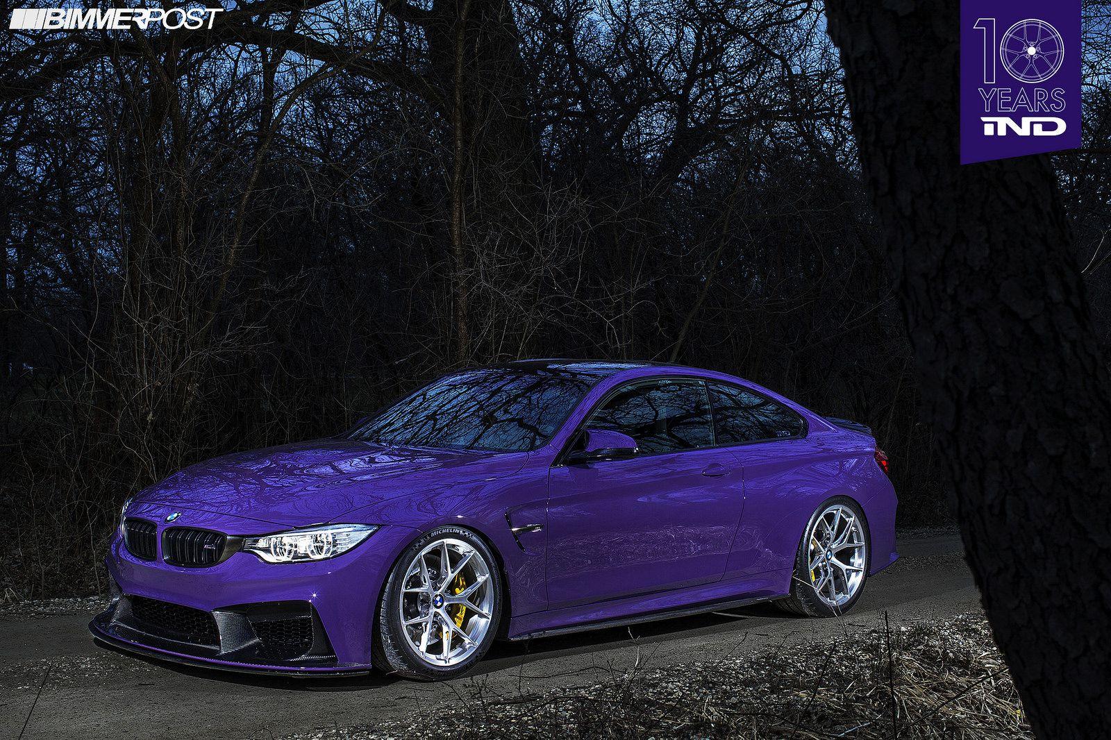 Custom build BMW F8x M4 GTS by IND on BBS FI-R brushed ...