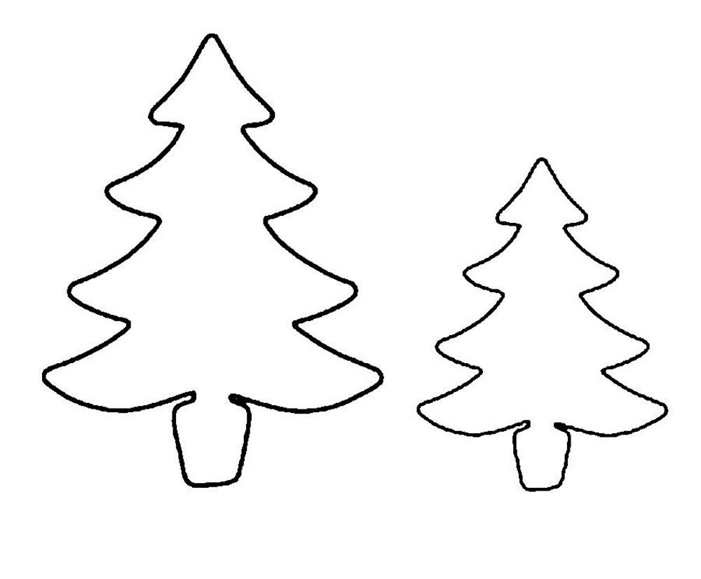 Mewarnai Gambar Pohon Cemara