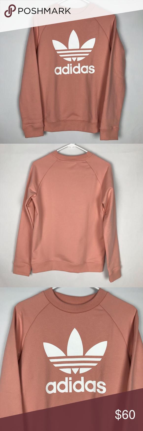 New Adidas Dusty Pink Crewneck Sweatshirt Pink Crewneck Sweatshirt Pink Crewneck Sweatshirts [ 1740 x 580 Pixel ]