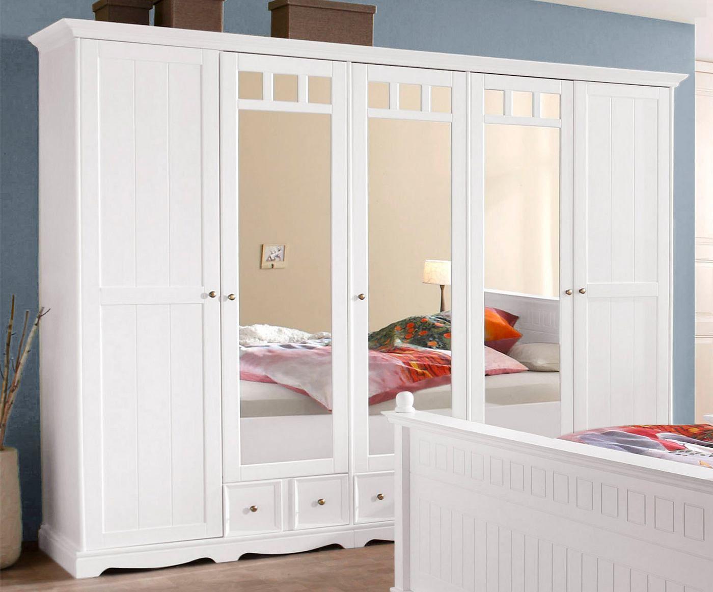 Kleiderschrank Weiß Hochglanz 250 Cm