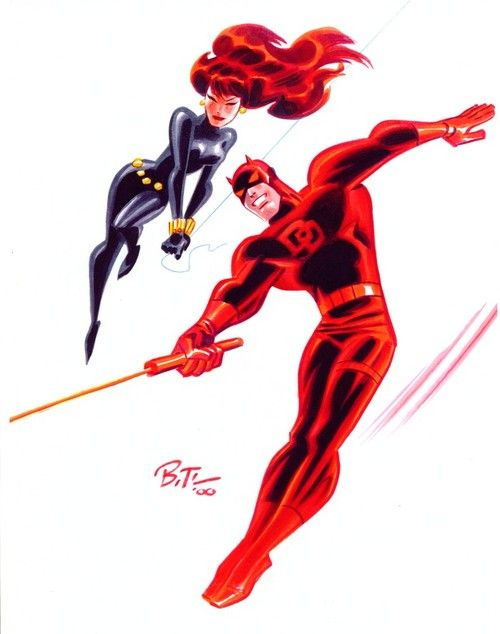 Daredevil & Black Widow