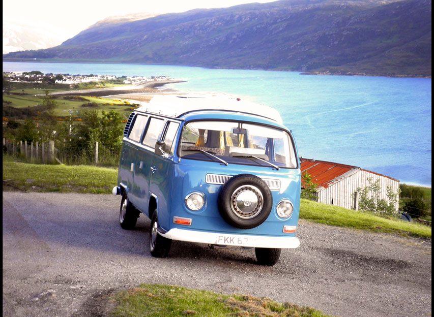 #VW Camper van bus T2a - Scottish Highlands