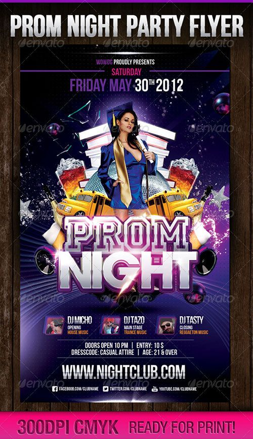 Graduation Party Club Flyer Poster Template Free Club Party Psd