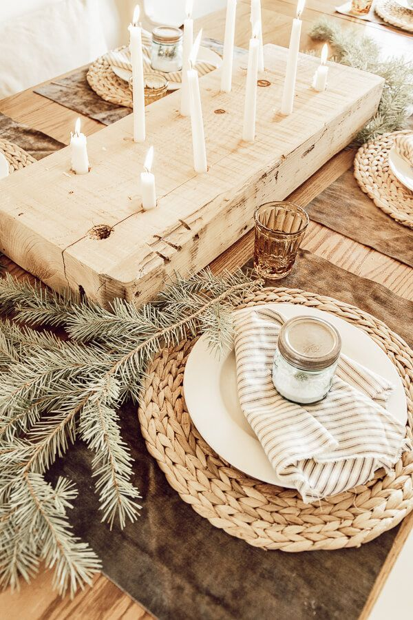 Photo of My Cozy Hygge and Scandinavian Inspired Christmas Table Decor