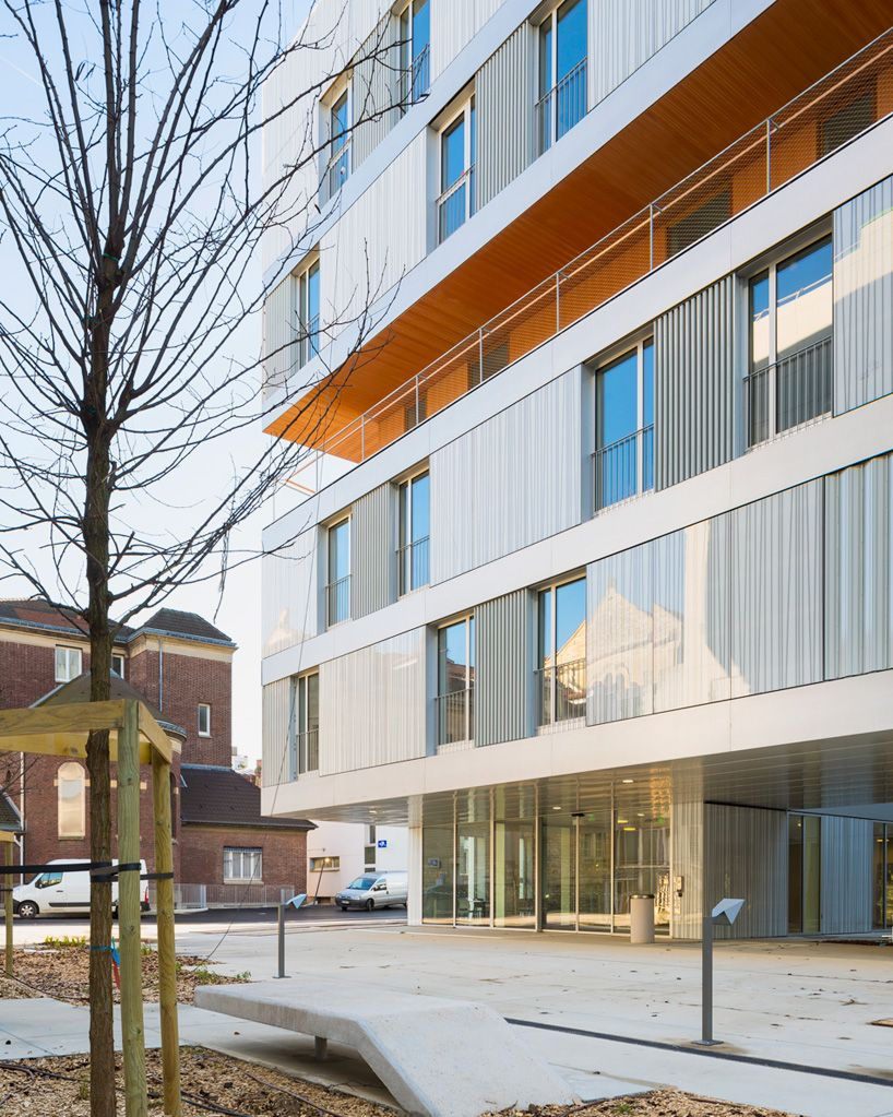 Residential Care Home In Paris By Atelier Zündel Cristea