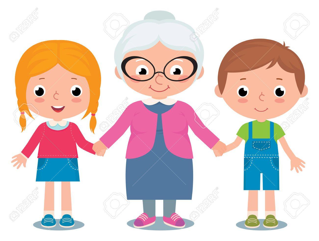 Dibujos Abuela Con Nietos - Buscar Con Google