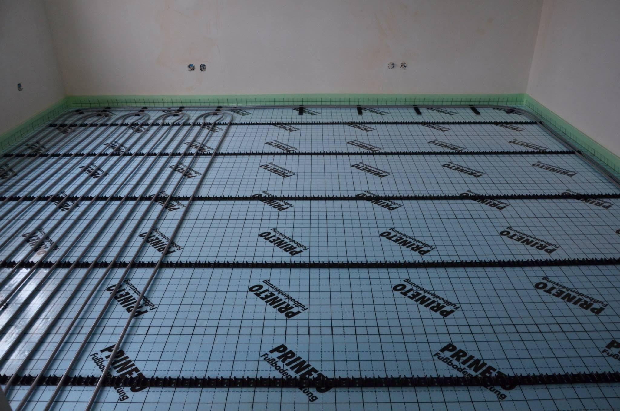 Underfloor heating Piso radiante