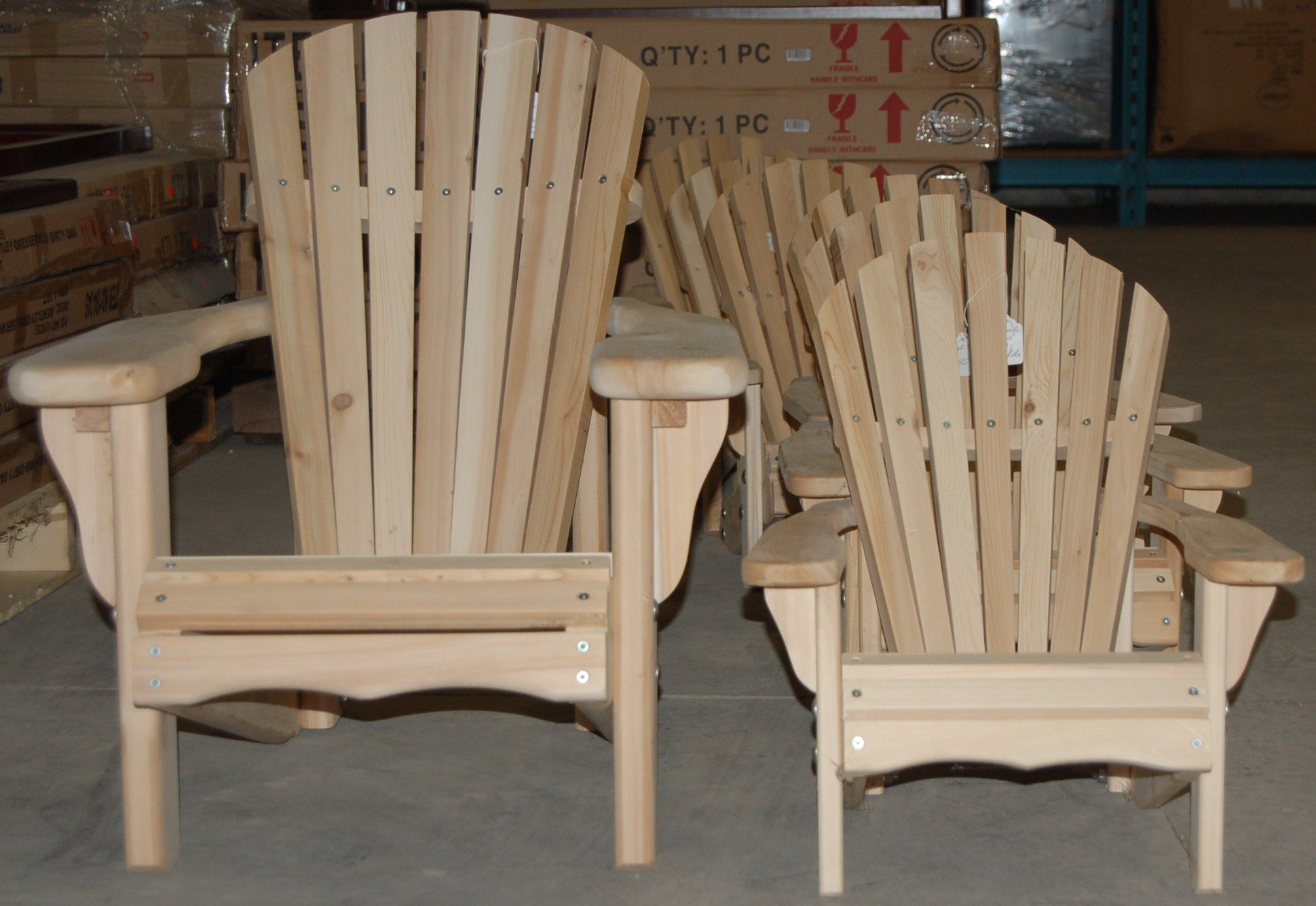 Muskoka Chairs Solid Ceder Meaford Factory Outlet Muskoka Chair Home Decor Outdoor Chairs - Factory Clearance Garden Furniture