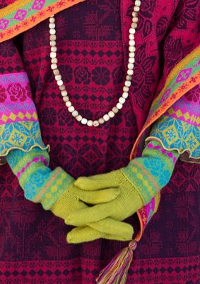 muhu gloves...cotton & wool...