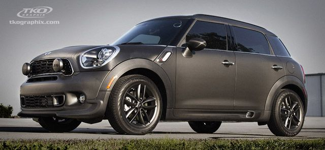 Vehiclegraphics Latest Vehicle Wrap Tends Mini Cooper Matte Vinyl Car