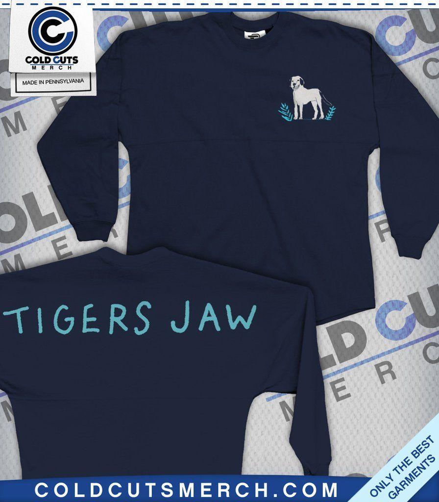 """Tigers Jaw """"Spirit Dog"""" Spirit Jersey"""