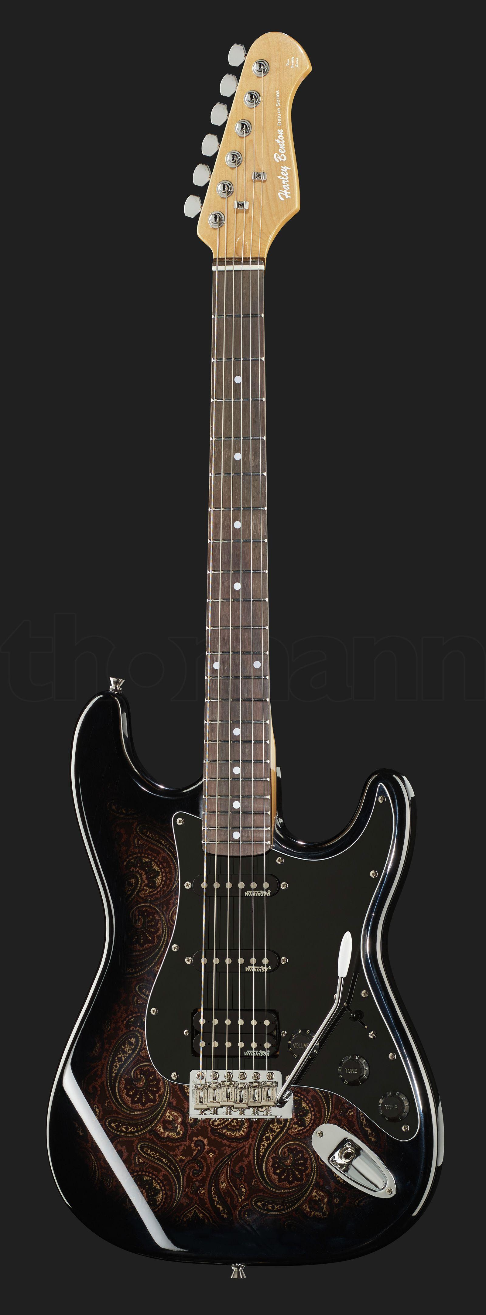 Harley Benton ST-70 Black Paisley | Guitars - Electric | Guitar