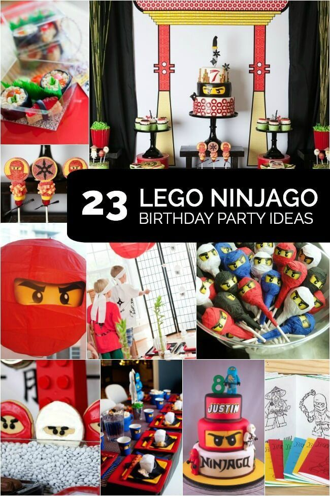 23 of the Best Ninjago Party Ideas Lego birthday party