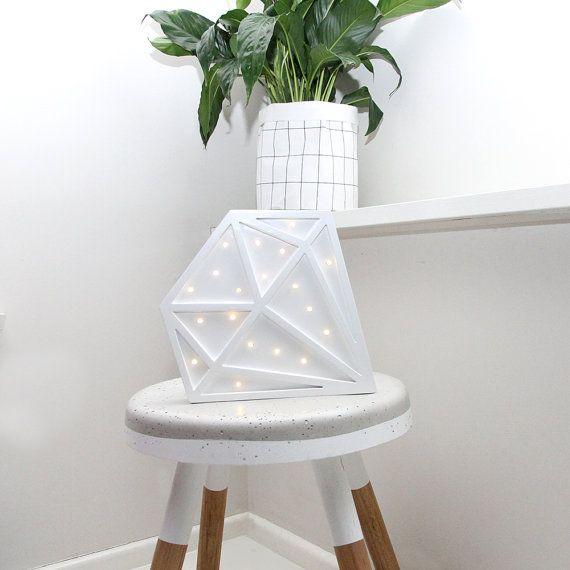 Mini Diamond Battery Light Pre-order 7th by LoveStruckHomewares