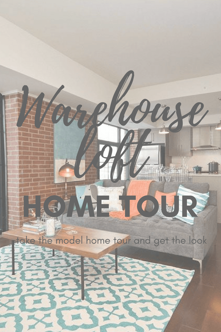 Home Tour : Warehouse Loft | Bold colors, Interior decorating and ...