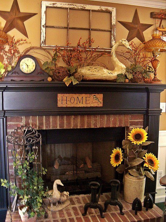 Primitive Fireplace Ideas Perfect Idea For Back Yard