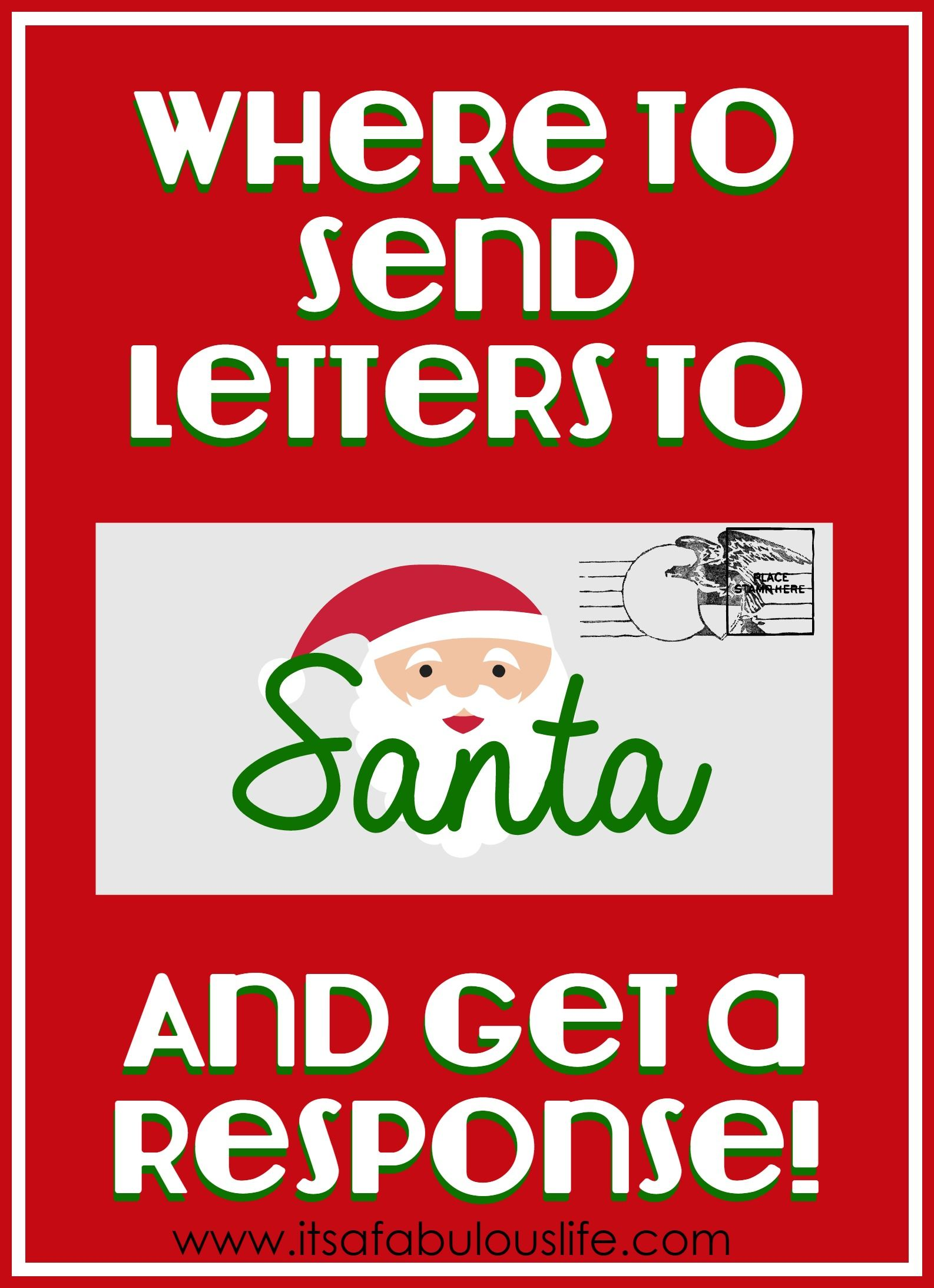 Where To Send Letters To Santa & Get a Response