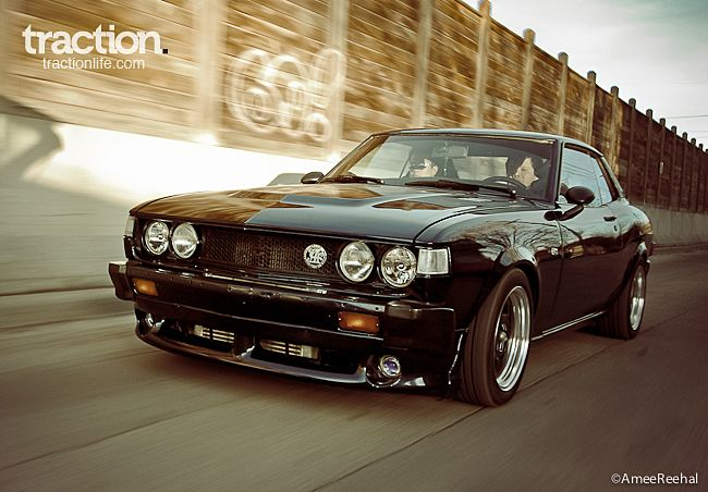 Classic Charm, Modern Muscle: 1977 Toyota Celica Turbo Tuned