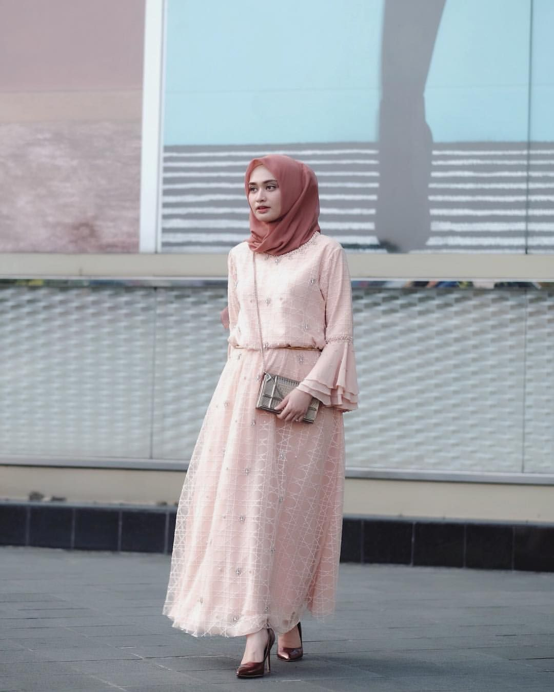 Pin by muharna on muslim fashion | Pinterest | Hijab outfit, Kebaya ...