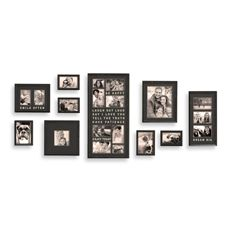 Wall Verbs 10 Piece Typography Frame Collection Bed Bath Beyond