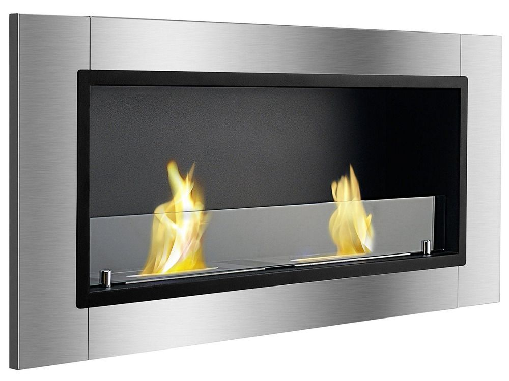Groovy Wall Mount Ethanol Fireplace Recessed Ventless Clean Burning Download Free Architecture Designs Scobabritishbridgeorg