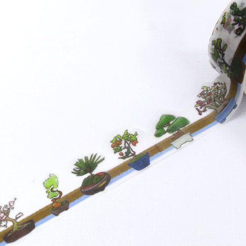 yano design マスキングテープ<盆栽 Potted tree>