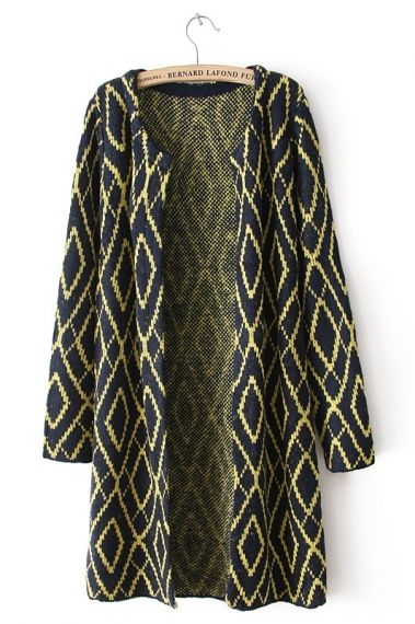 Gorgeous for Fall! Diamond Pattern Sweater Fashion. #autumn #sweater #fashion