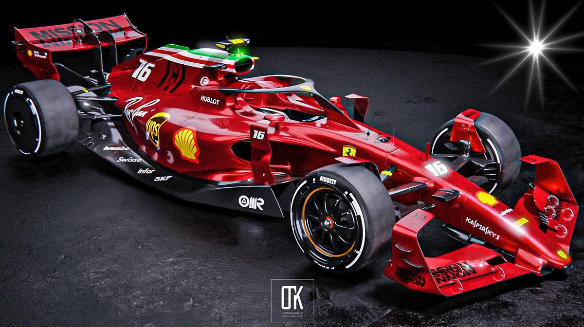 Scuderia Ferrari 2022 Concept On Behance Ferrari Formula 1 Car Racing Formula 1 Car