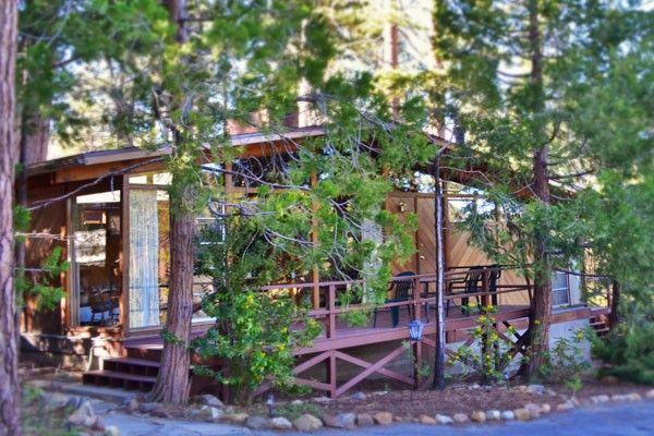 Idyllwild Cabin Resort Woodland Park Manor Idyllwild California Cottage Garden Cottage Exterior Cottage Patio