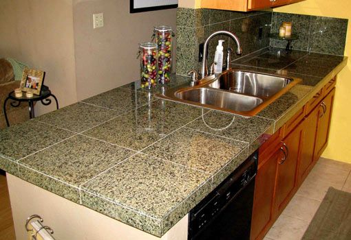 How To Install Granite Tile Countertop Kitchen