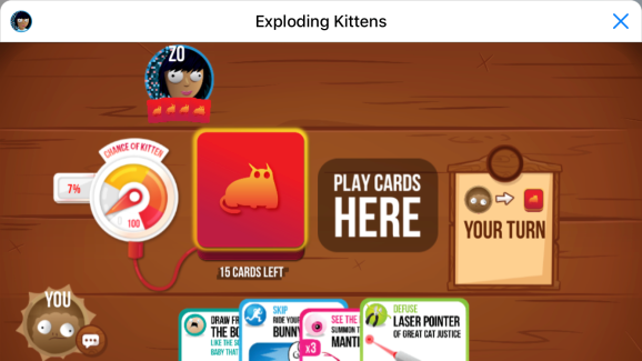 Microsoft S Zo Bot Wants To Play Exploding Kittens With You