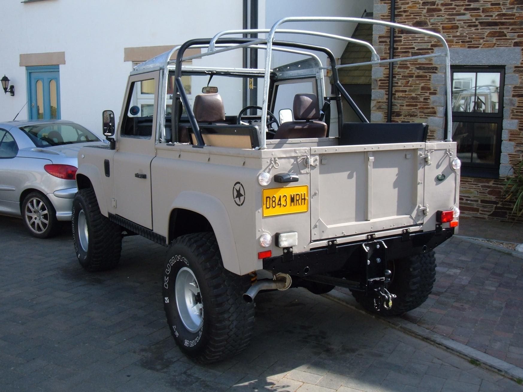 I converted my 90 a couple of years back with a kit from all wheel trim defender 90land rover