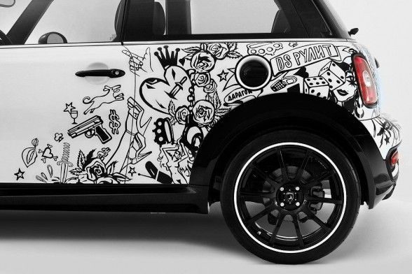 We would love to do this.... Smart Wall Paint Car!
