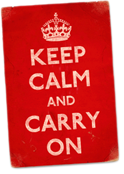 Origins of Keep Calm and Carry On