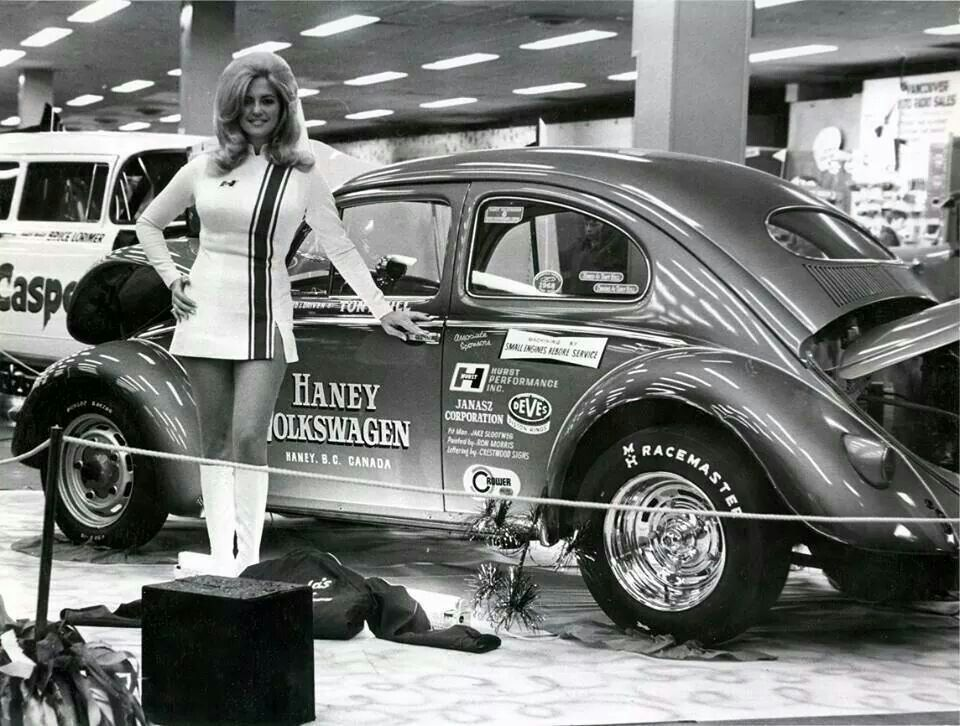 Linda Vaughn Miss Hurst Shifter | I love Bugs! | Linda vaughn, Vw