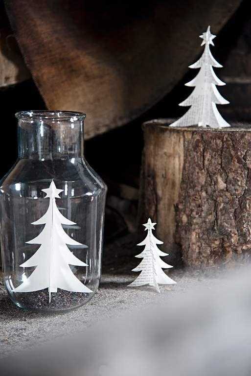winterdeko f r puristen sch ner wohnen ch r i s t m a s pinterest weihnachten. Black Bedroom Furniture Sets. Home Design Ideas