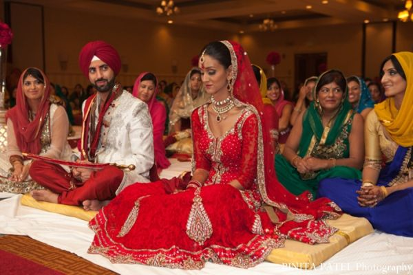 Sikh Wedding Ceremony Traditions In Woburn Ma Indian Fusion By Binita Patel Photography