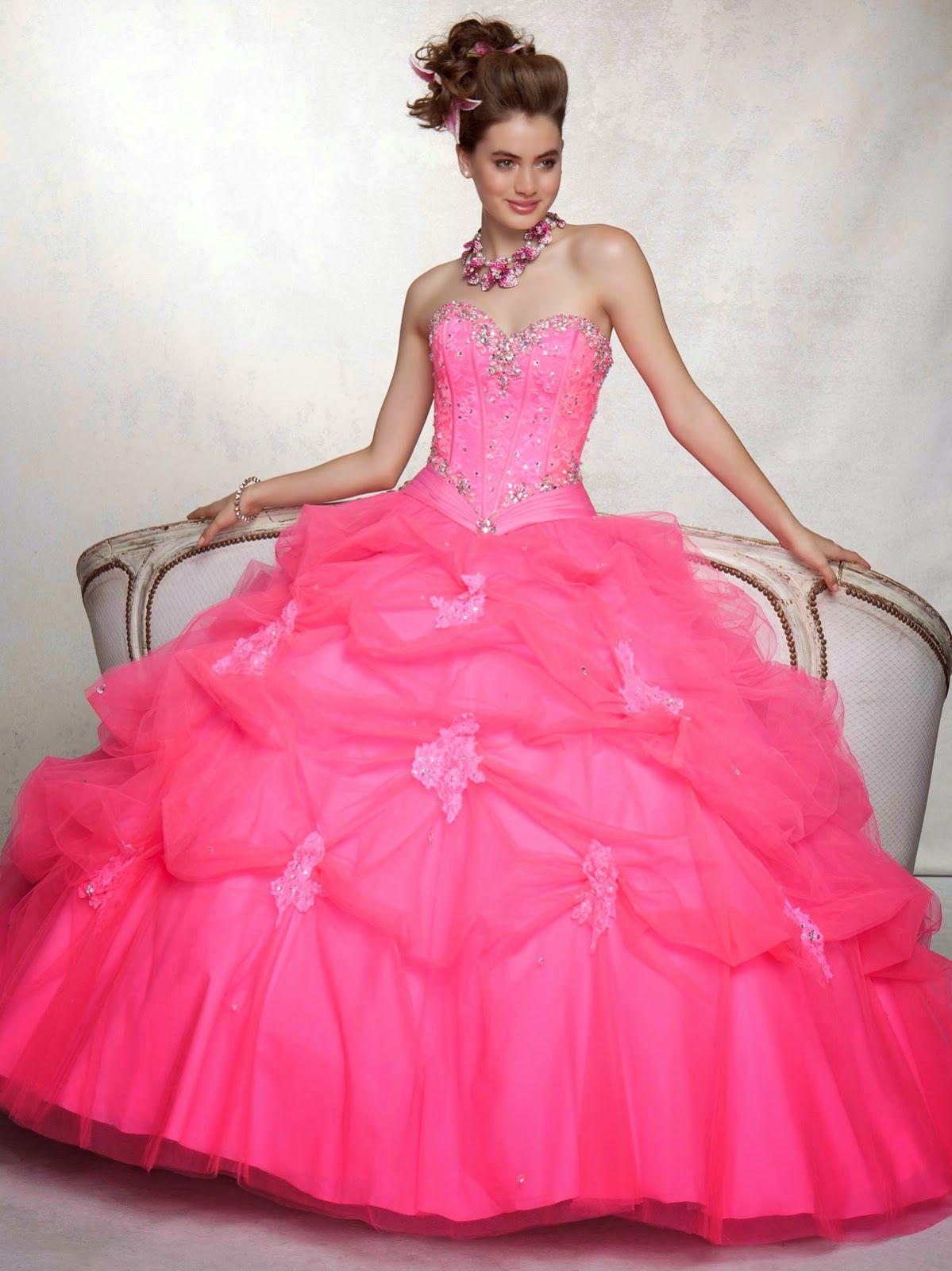 Exclusivos vestidos de 15 años | Colección fiesta | bodas y 15 años ...