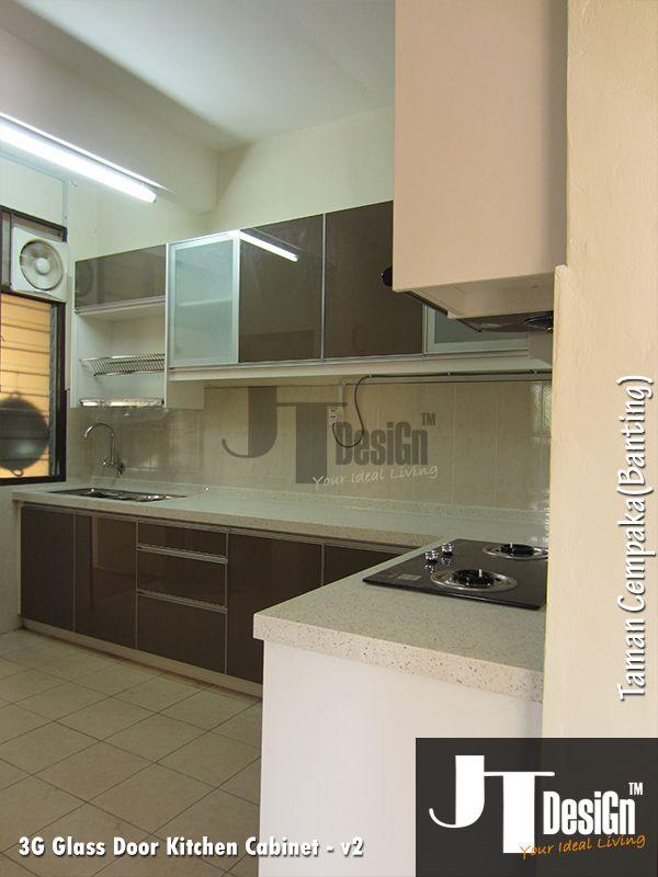 3g Glass Door Kitchen Cabinet Kitchen Cabinet Jt Design Glass Kitchen Cabinet Doors Kitchen Cabinets Glass Door