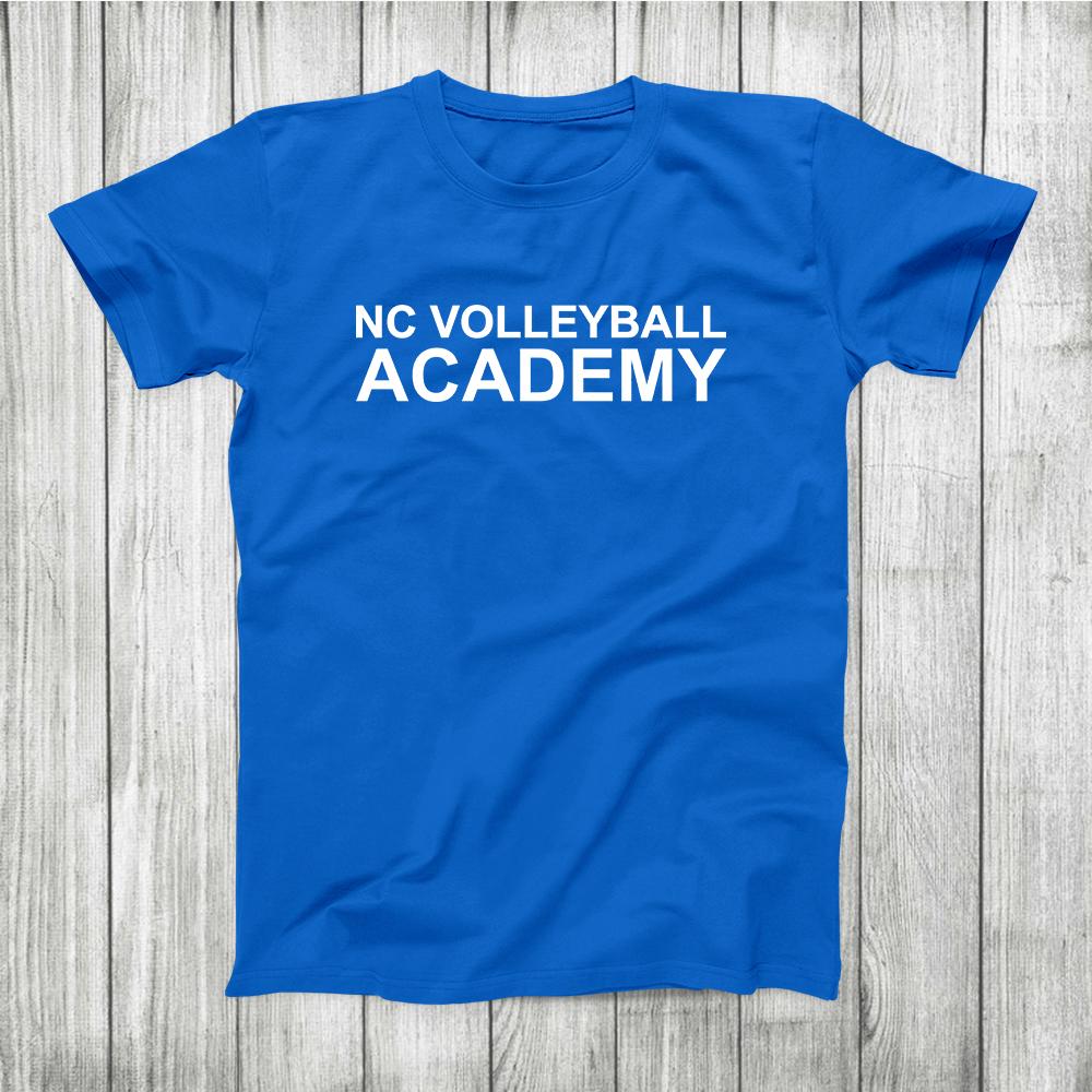 Nc Volleyball Academy T Shirt Mens Tshirts Shirts T Shirt