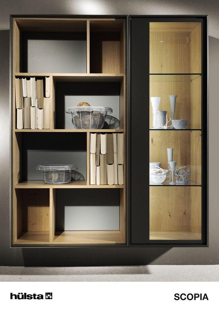 Wandcombinatie Zwevend Scopia Van Hulsta Polka Pinterest  # Meuble De Salon Interiors Vaissellier