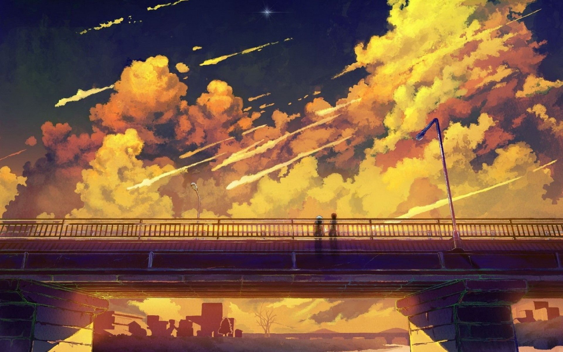 1920x1200 anime scenery high quality desktop wallpapers