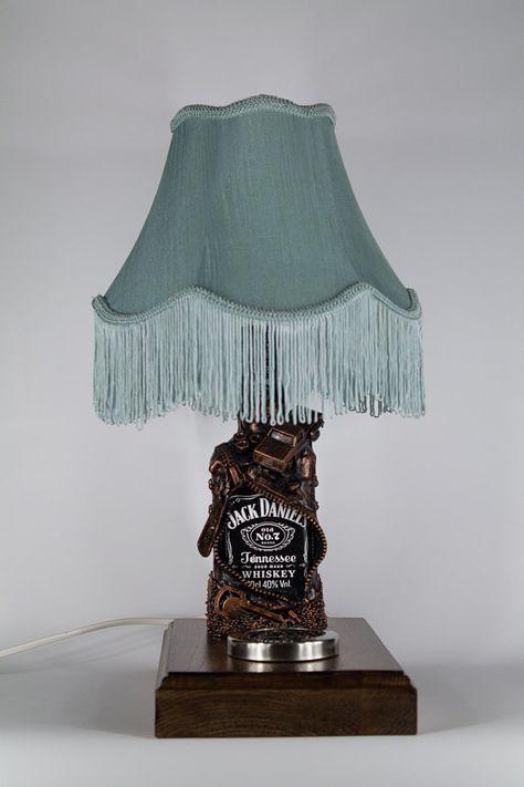Jack daniels bottle lamp shade gift for him liquor bottle lamp jack daniels lamp shade gift for him bottle lamp liquor aloadofball Gallery