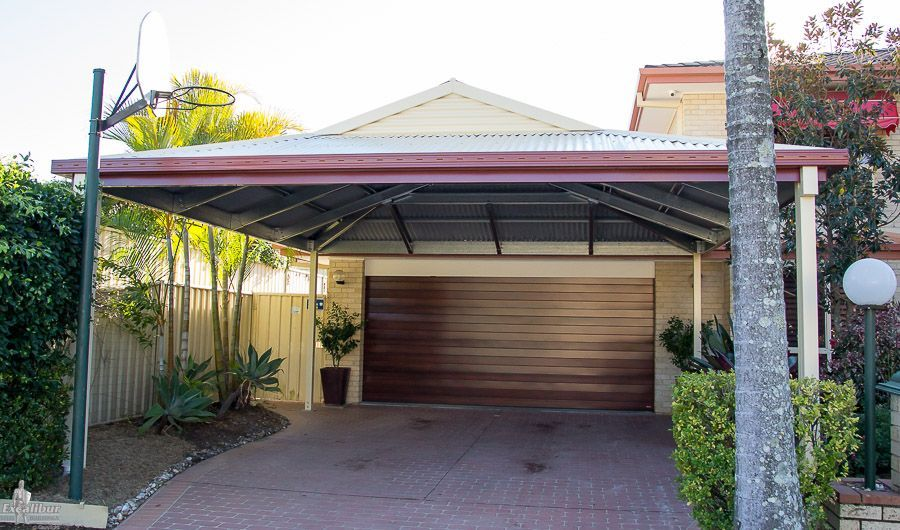 Dutch Gable Carport to give 2 more car spaces to the house