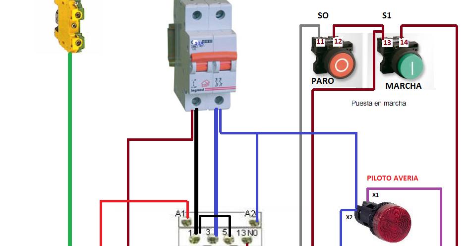 Conexion De Un Motor Trifasico A Una Red Monofasica Mediante Condensador Motor Trifasico Motores Instalación Electrica