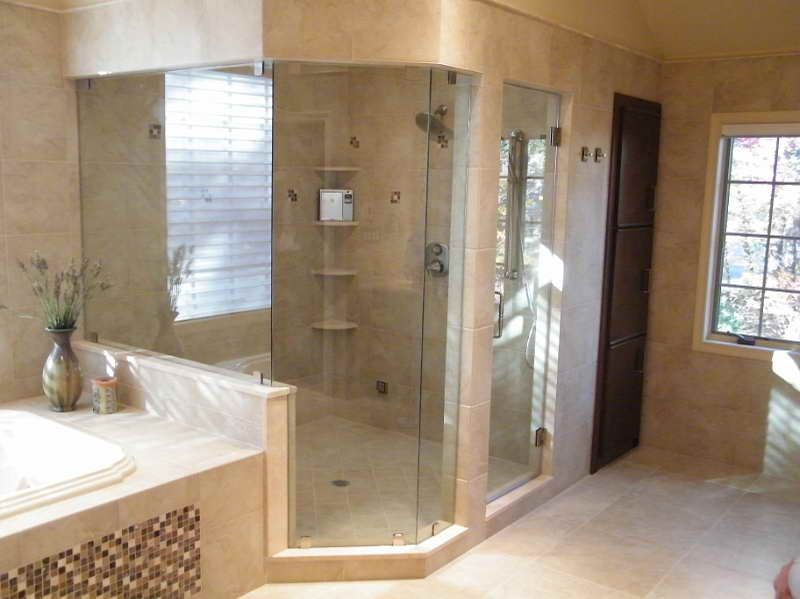 Steam Shower Unit with porcelain design | Dream Home Possibilities ...