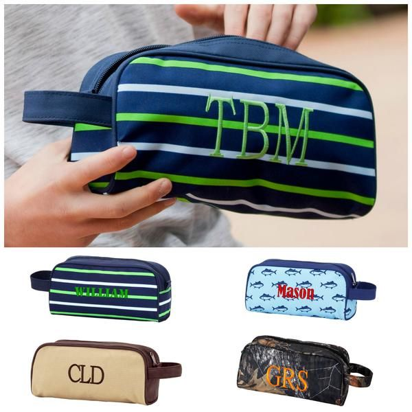 f4794be2a8 Personalized Mens Boys Toiletry Bag Travel Pouch