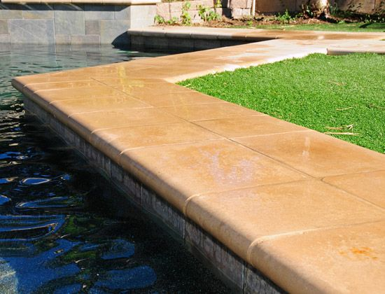 Swimming Pool Coping Stones | Outside | Pool construction, Building ...