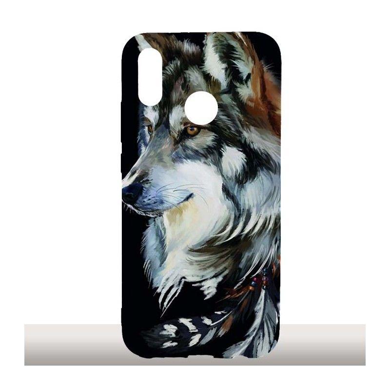 coque huawei p20 lite wolf