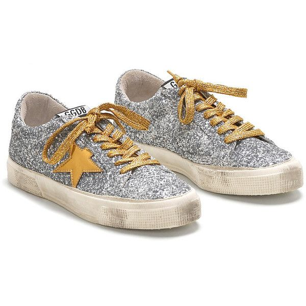 Silver glitter shoes, Metallic gold shoes
